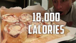 The Great American BREAKFAST Challenge | 18,000+ Calories