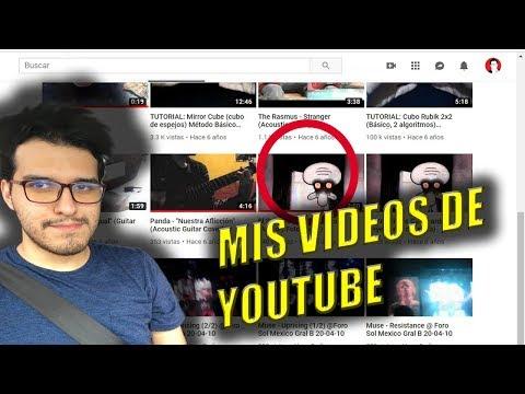REACCIONO A MIS VIDEOS EN YOUTUBE (No creerás lo que vi en el tercer video...)
