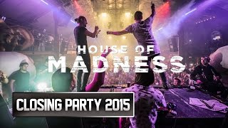 House of Madness Closing Party  Amnesia Ibiza 2015
