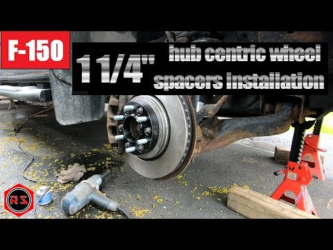 2013 Ford F 150 hub centric wheel spacers installation