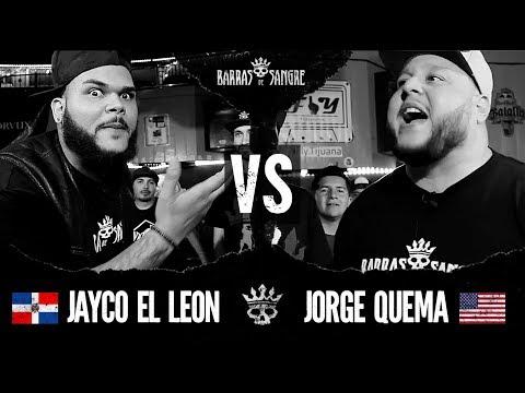 Barras De Sangre: Jayco El Leon 🇩🇴 vs Jorge Quema 🇺🇸 [ Batallas Escritas ]