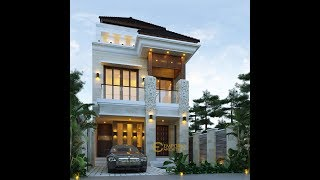 Video Mr. Naufal Villa Bali House 3 Floors Design - Jakarta