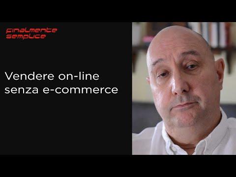 Vendere on-line senza e-commerce