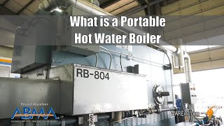 What is a Portable Hot Water Boiler