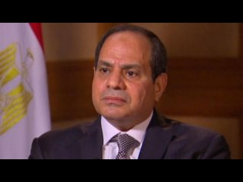 El-Sisi: Russia 'defending their interests' in Syria
