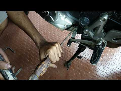 How-to replace a shifter on a motorcycle - смотреть онлайн на Hah Life