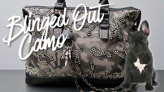 DIY | Blinged Out Camo Bag | BellaGemaNails