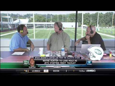 Boomer and Carton interviews Mike Tannenbaum Pt: 1