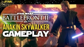 Anakin Skywalker On Geonosis Heroes Vs Villains | Battlefront 2 Gameplay