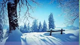 "Волшебная музыка зимы. ""Падал снег"" Красивая музыка! . Very beautiful music! christmas"