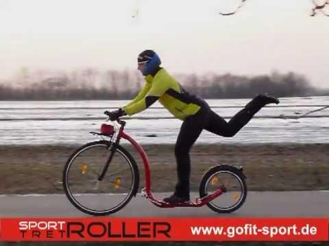 Tretroller bei gofit-sport.de -erste Eindrücke-