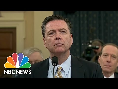 James Comey: 'No Information' To Support President Trump's Wiretap Claim | NBC New