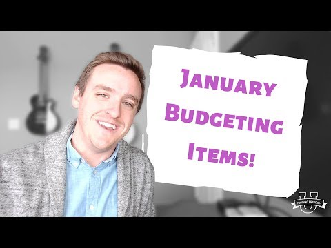 Don't Forget These January Budgeting Items!