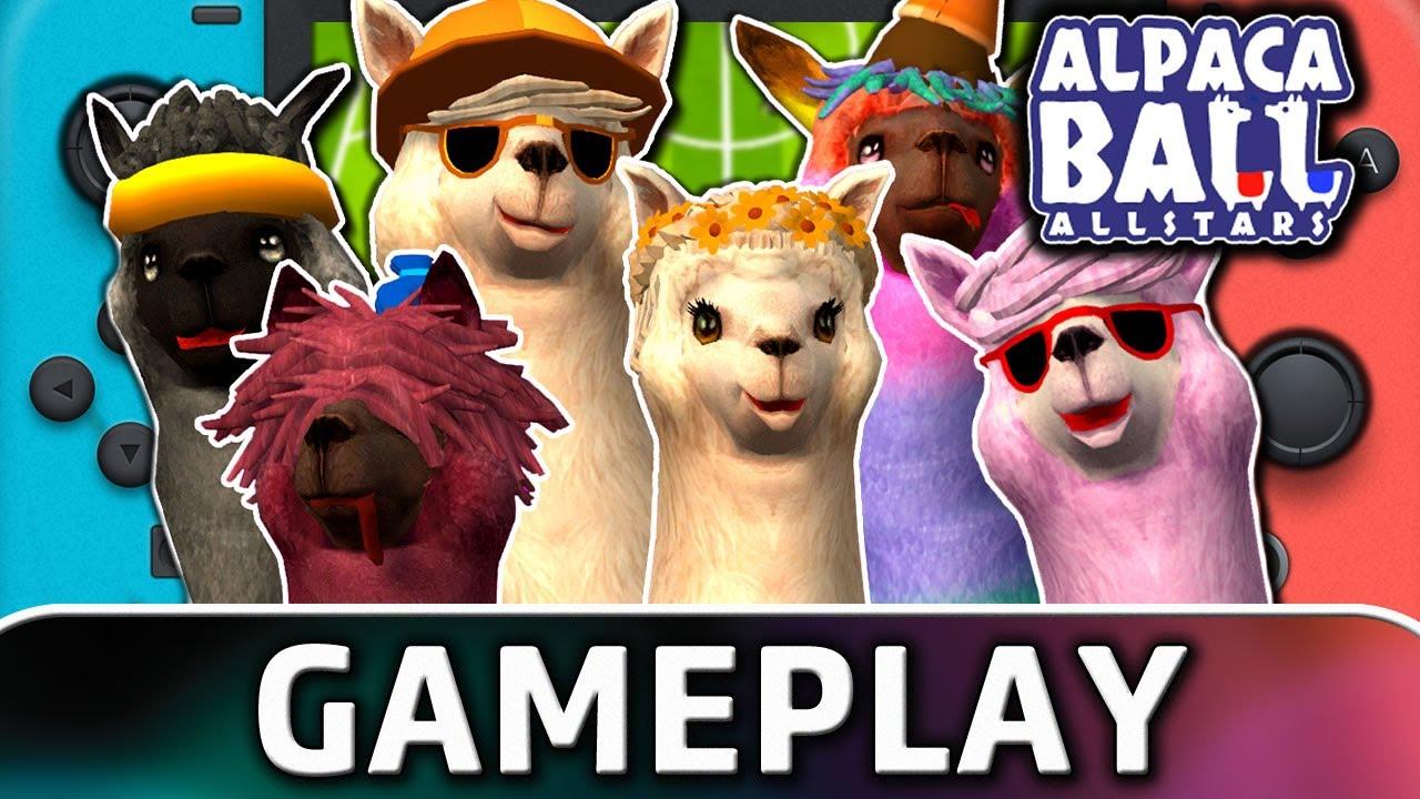 Alpaca Ball: Allstars | Nintendo Switch Gameplay
