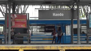 preview picture of video 'Pasajeros estación Mariano J. Haedo (domingo)'