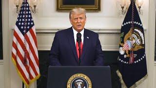 Prejav prezidenta Trumpa – zostrih
