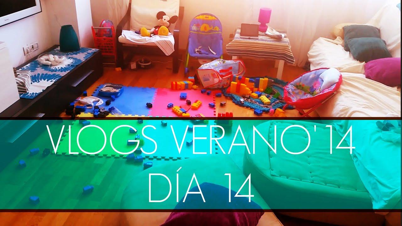 Un huracan en mi salón! (VLOGS DIARIOS: Verano'14) DÍA 14