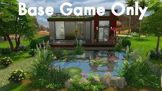 The Sims 4 | Base Game ONLY Modern Home - Speed Build