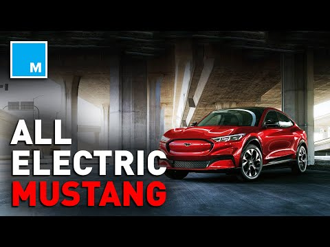 This Is Ford's New ALL-ELECTRIC Mustang | [MASHABLE NEWS]