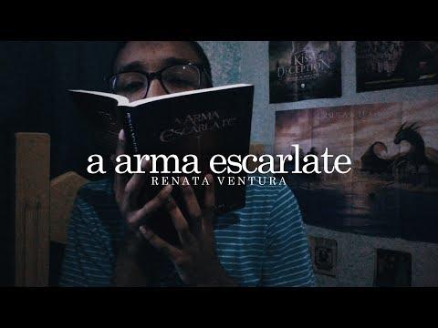 5 motivos para ler A Arma Escarlate | Um Bookaholic