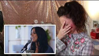 Vocal Coach REACTS to DEMI LOVATO- FATHER- live