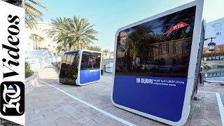 RTA Dubai tests the world's first 'Autonomous Pods'