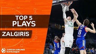 Zalgiris Kaunas - Top 5 Plays