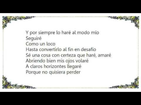 Eros Ramazzotti - Yo Amaré Lyrics