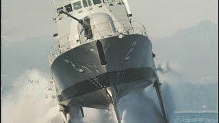 The Fastest Ship In The U.S. Navy: Boeing Pegasus Class Hydrofoils