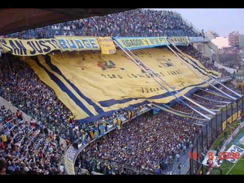 """LA 12 SI QUIEREN VER FIESTA"" Barra: La 12 • Club: Boca Juniors • País: Argentina"