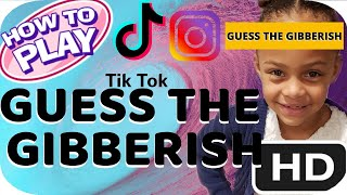 HOW TO FIND AND PLAY GUESS THE GIBBERISH FILTER ON TIKTOK / INSTAGRAM
