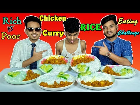 Eating Chicken Curry।CHICKEN CURRY PLATTER RICE EATING CHALLENG|Eating Chicken Curry With Rice(Spicy