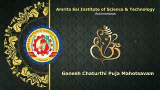 Ganesh Chaturthi Puja in Amrita Sai College
