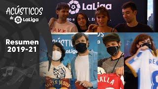 Vuelven los Acústicos de LaLiga temporada 2021 2022