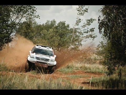 Giniel De Villiers races a Dakar dream machine