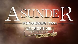 For Honor: Warrior's Den Y5S1 LIVESTREAM April 1 2021 | Ubisoft [NA] by Ubisoft