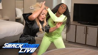 Mandy Rose welcomes Jimmy Uso to her hotel room: SmackDown LIVE, Jan. 14, 2019