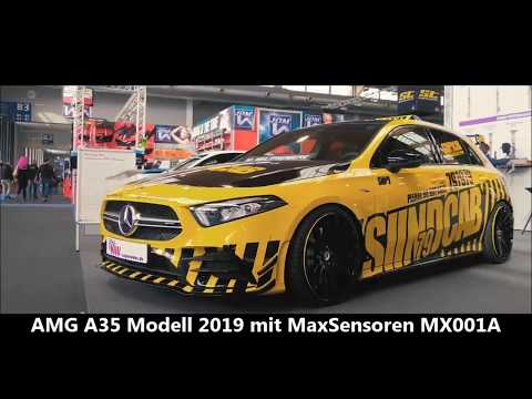 AMG A35 Modell 2019 mit MaxSensoren MX001A RDKS/TPMS inside!