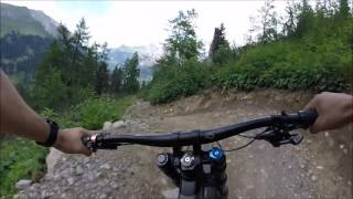 kandersteg freeridetrail (+crash)