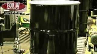 Značíme ocelové bubny...