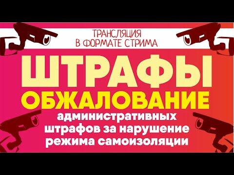Обжалование административных штрафов за нарушение режима самоизоляции. Cоветы адвоката #Клоповой