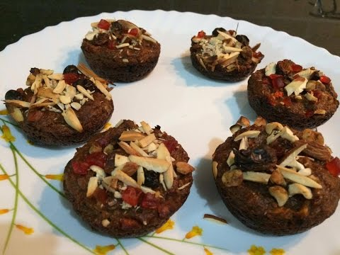 Eggless Bread Pudding Muffins/ Easy Eggless Desert Recipe/ Bread Muffins