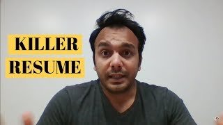 How to Write Resume for Masters Students  | MS IN USA | Nitinkumar Gove