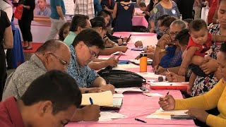 Job Seekers In The Driver's Seat At WorkForce Career Fair