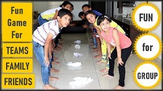 Funny Game | Games For Kids | Team Building Activity For Kids, Office, Adults | Indoor Game(2020)