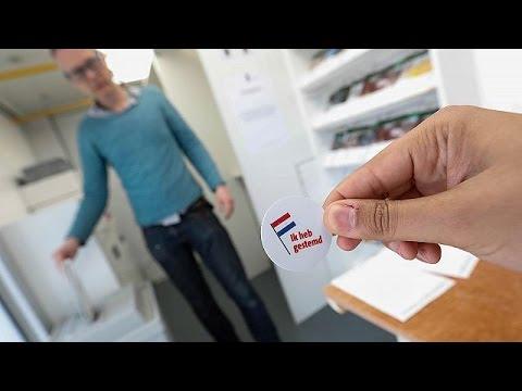 H Oλλανδία στις κάλπες: Μεγάλη η συμμετοχή των ψηφοφόρων