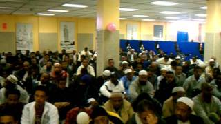 Eid Prayer At First Hijrah Ethiopian Muslim Com.DC