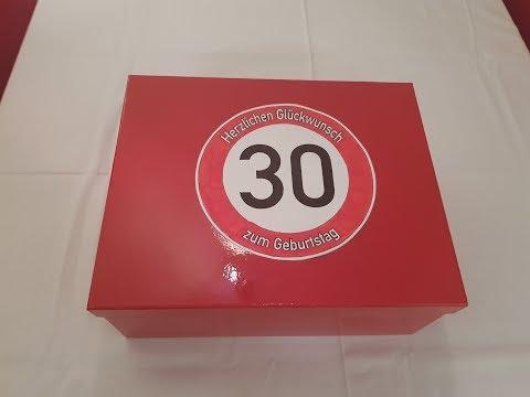 Geschenke zum 30 Geburtstag