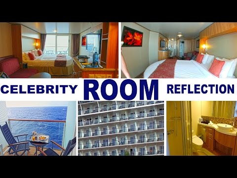 Celebrity Reflection Cabin 7202 - Deluxe Veranda Ocean View 4K