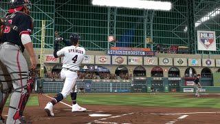 2019 World Series - Washington Nationals vs Houston Astros - Game 7 (MLB 10/30/2019) MLB The Show 19